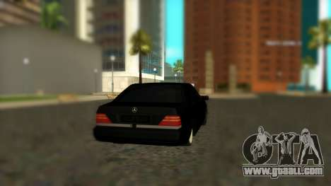 Mercedes-Benz S600 W140 AMG for GTA San Andreas left view