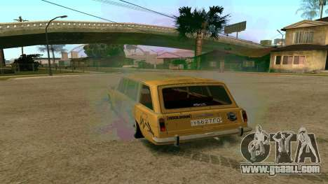 BK VAZ 2102 v1.0 Drift for GTA San Andreas left view