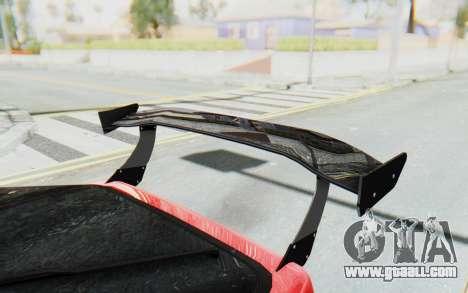 Mazda RX-7 FC3S BN Sport for GTA San Andreas upper view