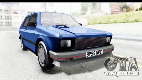 Zastava Yugo Koral UK for GTA San Andreas