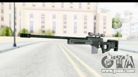 GTA 5 Shrewsbury Sniper Rifle for GTA San Andreas