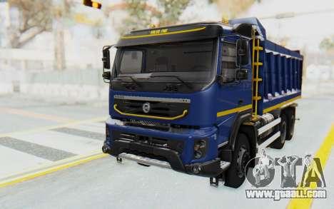 Volvo FMX 6x4 Dumper v1.0 Color for GTA San Andreas