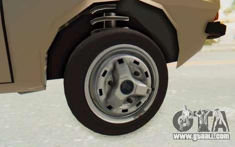 Dacia 1310 TLX for GTA San Andreas back view