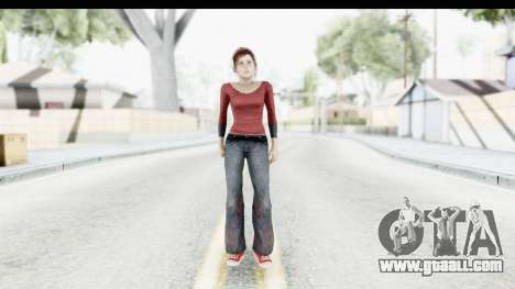 The Last of Us - Eli for GTA San Andreas second screenshot