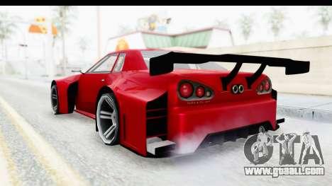 Elegy KraZ Edition Beta 0.8.5 for GTA San Andreas left view