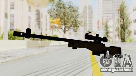 L96 for GTA San Andreas second screenshot