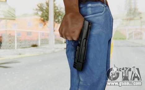 HK USP 45 Black for GTA San Andreas