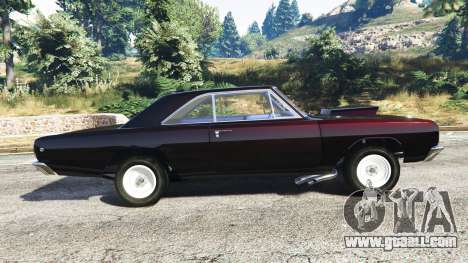 GTA 5 Dodge Dart 1968 Hemi left side view