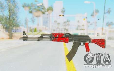 CS:GO - AK-47 Laminate Red for GTA San Andreas