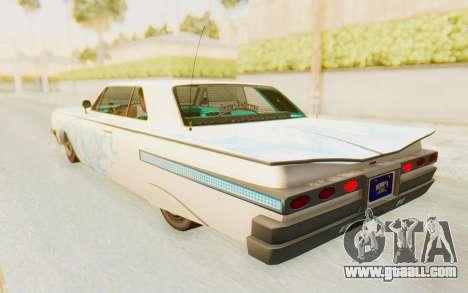 GTA 5 Declasse Voodoo Alternative v1 for GTA San Andreas wheels