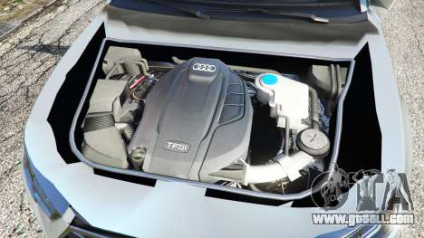 GTA 5 Audi A4 2017 v1.1 rear right side view
