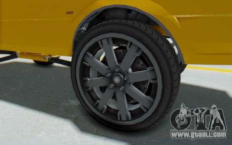 GTA 5 Willard Faction Custom Donk v1 IVF for GTA San Andreas back view