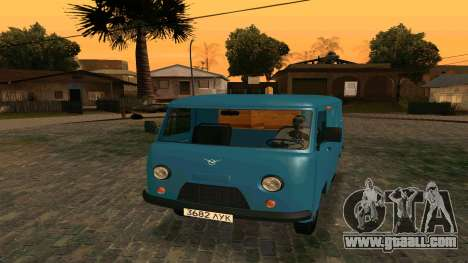 UAZ-452 for GTA San Andreas back view