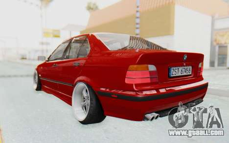 BMW M3 E36 2.5 TDS for GTA San Andreas left view