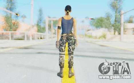 Mortal Kombat X - Jacqui Briggs for GTA San Andreas third screenshot