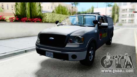 Ford F-150 Indonesian Police K-9 Unit for GTA San Andreas