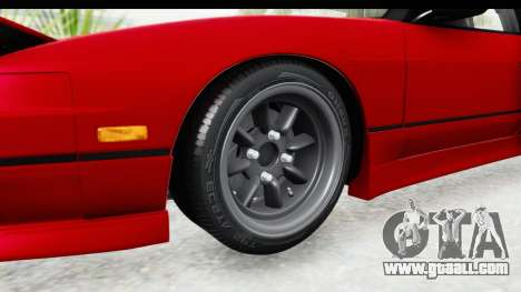 Nissan 240SX 1989 v1 for GTA San Andreas back view