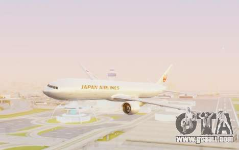 Boeing 777-300ER Japan Airlines v2 for GTA San Andreas