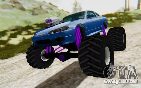 Nissan Silvia S15 Monster Truck for GTA San Andreas right view