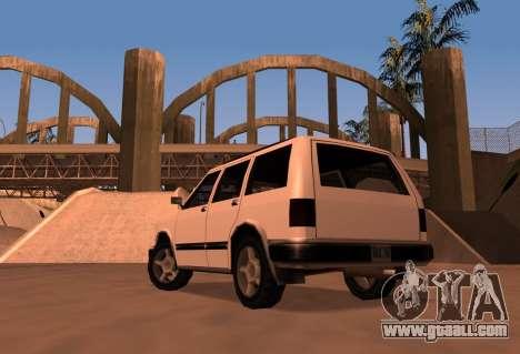 Landstalker SRT8 for GTA San Andreas left view