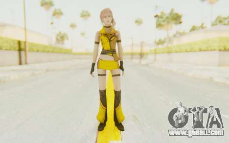 Final Fantasy XIII - Lightning Electronica for GTA San Andreas second screenshot