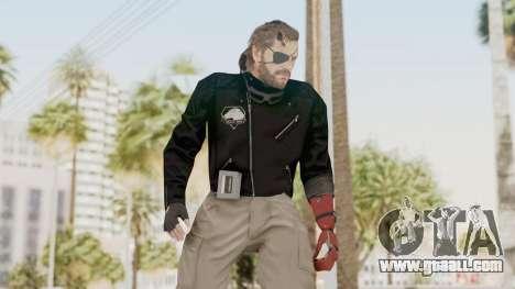 MGSV Phantom Pain Venom Snake Leather Jacket for GTA San Andreas