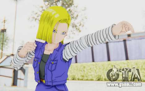 Dragon Ball Xenoverse Android 18 Jacket for GTA San Andreas