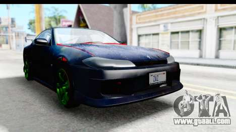 Nissan Silvia S15 Galaxy Drift v2.1 for GTA San Andreas right view