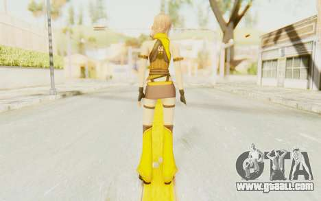 Final Fantasy XIII - Lightning Electronica for GTA San Andreas third screenshot