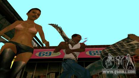 Prince Of Persia Water Sword for GTA San Andreas forth screenshot