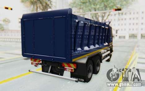 Volvo FMX 6x4 Dumper v1.0 Color for GTA San Andreas back left view