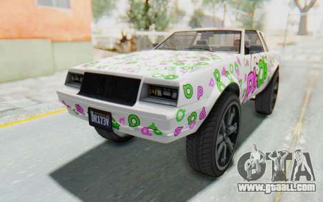 GTA 5 Willard Faction Custom Donk v1 IVF for GTA San Andreas engine