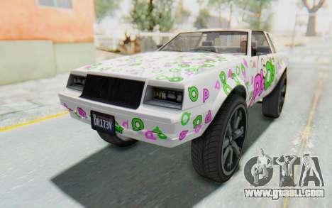 GTA 5 Willard Faction Custom Donk v1 IVF for GTA San Andreas engine