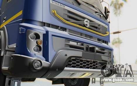 Volvo FMX 6x4 Dumper v1.0 Color for GTA San Andreas side view