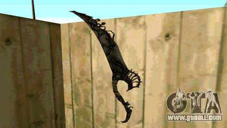 Prince Of Persia Water Sword for GTA San Andreas