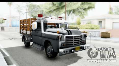 GMC 3100 Diesel for GTA San Andreas right view