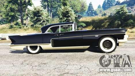 GTA 5 Cadillac Eldorado Brougham 1957 v1.1 left side view