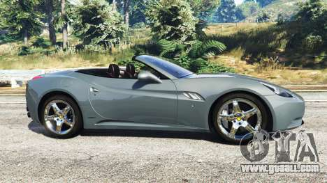 GTA 5 Ferrari California Autovista left side view