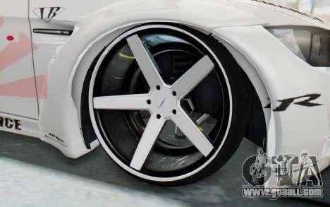 BMW M3 E92 Liberty Walk LB Performance for GTA San Andreas back view