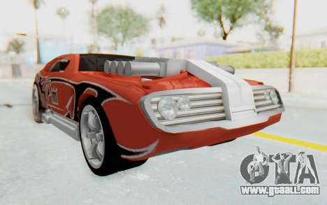 Hot Wheels AcceleRacers 2 for GTA San Andreas right view