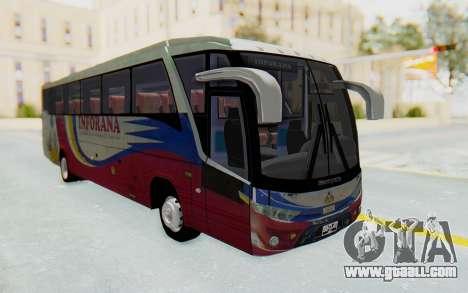 Marcopolo Inforana Bus for GTA San Andreas right view