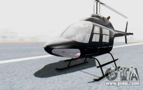 Bell 206B-III Jet Ranger Policja for GTA San Andreas