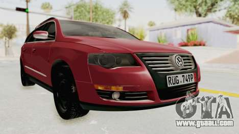 Volkswagen Passat B6 Variant for GTA San Andreas right view
