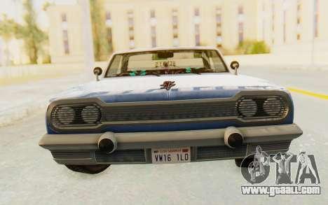 GTA 5 Declasse Voodoo Alternative v1 for GTA San Andreas