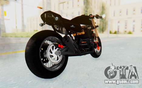 Kawasaki Z1000 Moghe Cafe Racer for GTA San Andreas left view