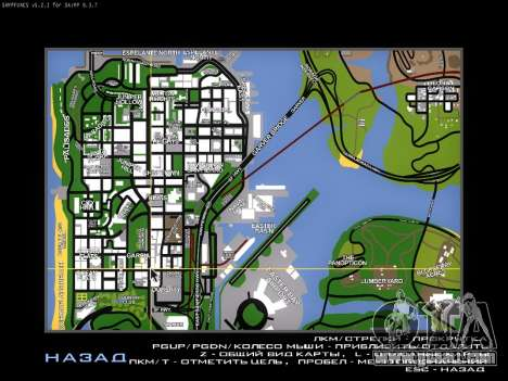 Map for SAMP for GTA San Andreas second screenshot