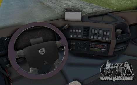 Volvo FMX 6x4 Dumper v1.0 for GTA San Andreas upper view