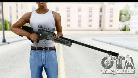 GTA 5 Shrewsbury Sniper Rifle for GTA San Andreas third screenshot