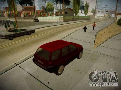 Ford Escape 2005 for GTA San Andreas right view