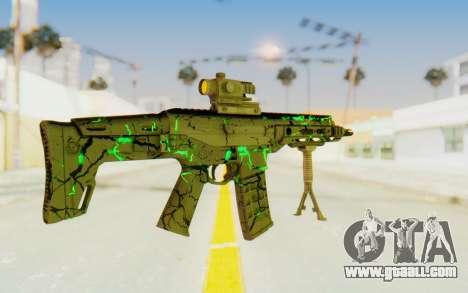ACR CQB Magma Green for GTA San Andreas third screenshot